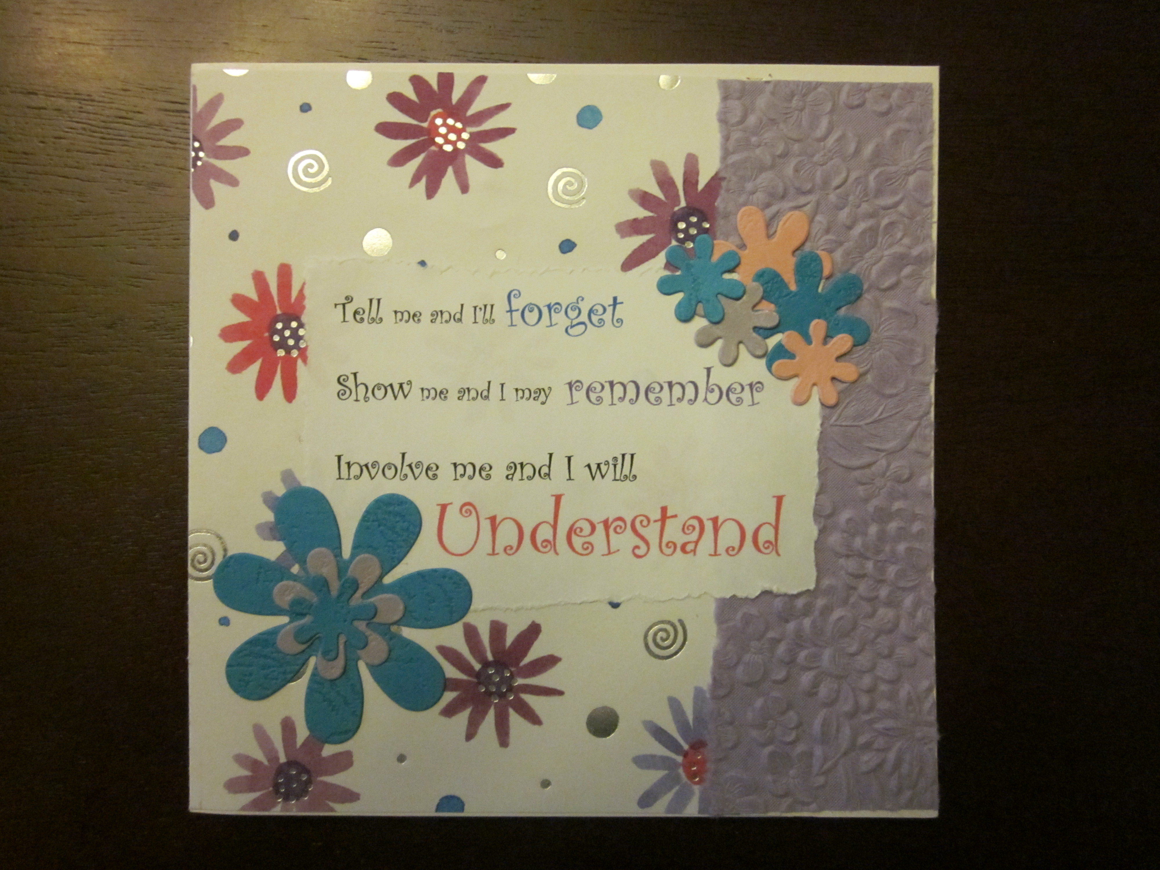 Displaying 19> Images For - Handmade Teachers Day Cards...