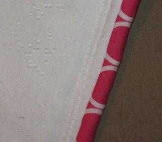 maureen's christmas quilt binding