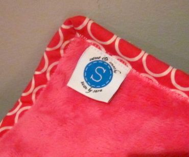 maureen's christmas quilt label