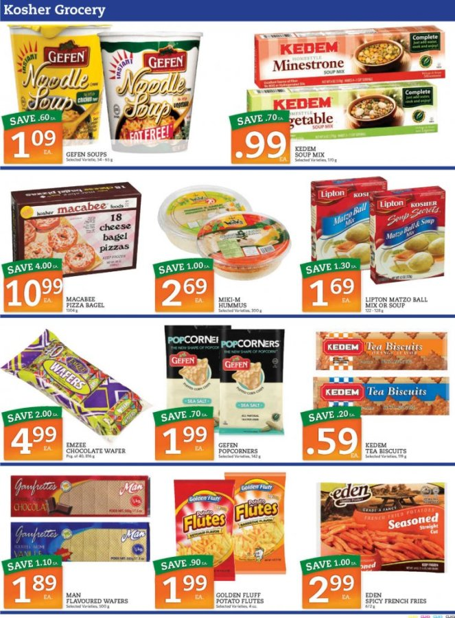 kosher grocery flyer