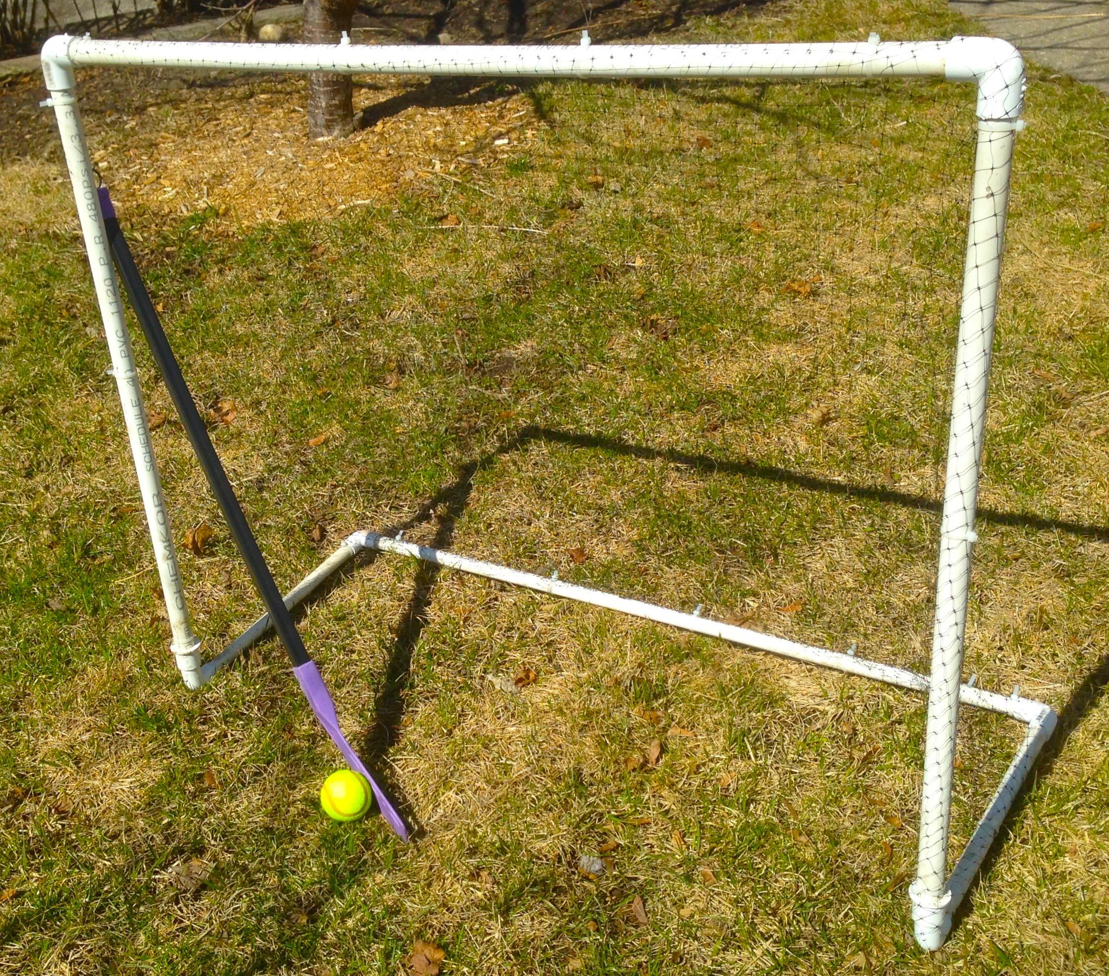 DIY hockey net | sweet & crunchy
