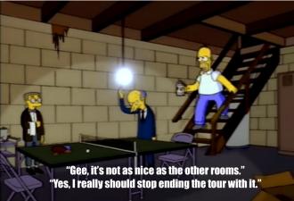Mr Burns Basement